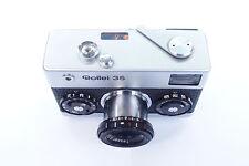 Rollei 35 analógico cámara compacta Tessar 3,5/40 mm bonito estado