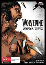 Marvel Knights: Wolverine - Weapon X: Tomorrow Dies Today (DVD, 2013) Free Post!