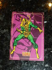"LOKI - Marvel ""trading Card"" - No 9 - Marvel Comics"