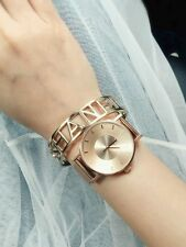 Klasse14 Rose Gold Mesh Band Unisex Simple Classy Watch 36MM