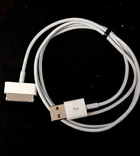 GENUINE ORIGINAL APPLE CHARGER CHARGING Data USB Cable Cord IPHONE 4 iPad  2 3