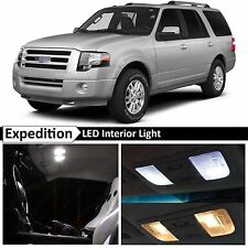 17x White LED Lights Interior Package for 2003-2014 Ford Expedition