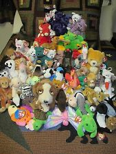 RARE Beanie Baby/Buddy LOT of 65 ALL RETIRED Many with Errors - Collection