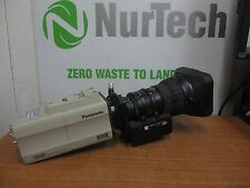 """Panasonic AW-E860 2/3"""" 3-CCD 16:9/4:3 Industrial Color Video Camera w/ Lens"""