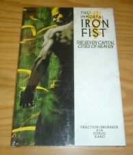 Immortal Iron Fist HC 2 NEW SEALED the seven capital cities of heaven hardcover