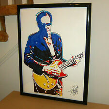 Joe Bonamassa, Blues Rock Guitar, Singer, Vocals, Guitarist, 18x24 POSTER w/COA