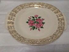 Sebring Pottery China Bouquet 1 k 5518 Platter 13 1/2 Inch
