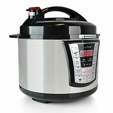 NutriChef PKMRC66 10-In-1 Rice Multi Cooker - 10 Automatic Functions - 5 Quarts
