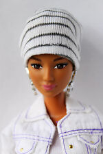 Barbie Doll African American Fashionista Hybrid Articulated Redressed
