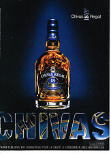 PUBLICITE ADVERTISING 094  2008  CHIVAS  REGAL whisky 18 ans