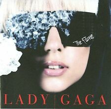 LADY GAGA - THE FAME CD 2008 POKER FACE PAPARAZZI LOVE GAME JUST DANCE EH, EH