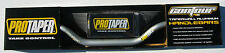 "Pro Taper Contour Platinum Grey Fat Handlebar CR Mid Bend 1-1/8"" Bar Pad NEW"