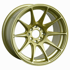 "18X8.75"" XXR 527 WHEELS 5X100/114.3 +20 GOLD RIMS FITS EVO 10 2008 -2013"