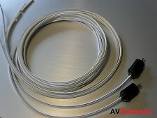 Speaker Cables (2-Pin DIN Plugs, Pair, 11 Mtrs) for Bang & Olufsen B&O