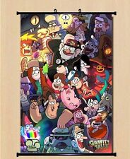 Gravity Falls Poster Wall Scroll Home Decor Mabel Pines DipperPines anime gift