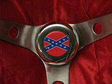 68 69 70 DODGE CHARGER GENERAL LEE STEERING WHEEL + HORN BUTTON NEW