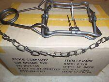 5 Duke 110 Body Gripping Trap (5 Traps) Traps Muskrat Mink 0400