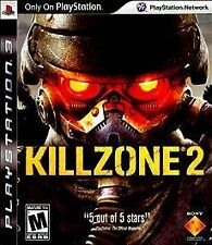 Killzone 2 (Sony Playstation 3, 2009) PS 3 GAME + BOOK INSERT