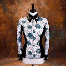 X-LARGE  Showmanship Pleasure Horsemanship Show Jacket Shirt Rodeo Queen Rail