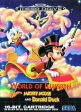 Mega Drive World of Illusion starring Mickey Mouse & Donald Duck (mit OVP wieNEU