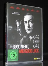DVD GOOD NIGHT AND GOOD LUCK - POLIT-THRILLER GEORGE CLOONEY + ROBERT DOWNEY JR.
