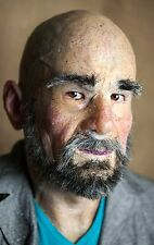 """Silicone Mask Old Man """"Leon"""" Hand Made, Halloween High Quality, Realistic,"""