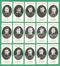 FOOTBALL  -  TADDY  MIDDLESBROUGH  FOOTBALLERS  -  SET  OF  15  CARDS - REPRINTS