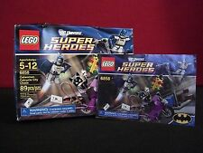 Lego # 6858 DC Universe Catwoman Catcycle City Chase Box & Instructions ONLY