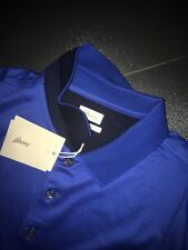 New 2016 Summer Brioni Polo tshirt size M Color  Blue - Sax