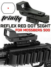 Mossberg 500 Shotgun Tactical Red Dot Sight Combo Kit, Reflex sight black alumin