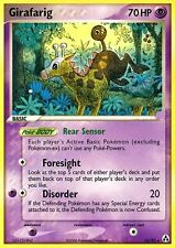 EX LEGEND MAKER POKEMON RARE CARD - GIRAFARIG 16/92