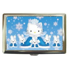 Hello Kitty Cigarette Metal Case 100's or Use Keep Money Card Wallet HOT NEW