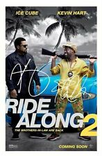 ICE CUBE & KEVIN HART - RIDE ALONG 2 AUTOGRAPHED SIGNED A4 PP POSTER PHOTO