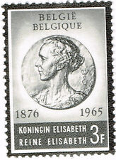 Belgium Queen Elizabeth Memorial stamp 1965 MNG