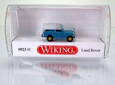 Wiking 092301 Land Rover  - helltürkis / cremebeige -  Scale 1/160  N