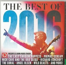 Q CD JAN 2017 BEST OF 2016 NICK CAVE THE BAD SEEDS THE CORAL 15 TRACKS POST FREE