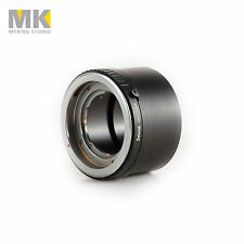 Camera lens Accessories Metal lens adapter ring for DKL Mount to Sony NEX6 NEX-7