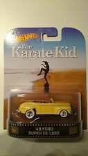 HOT WHEELS RETRO MOVIE SERIES KARATE KID '48 FORD SUPER DE LUXE NEW