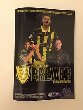 Burton Albion V Preston North End lega europea calcio campionato programma 2nd GENNAIO 2017
