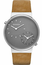 Skagen Men's Ancher Dual-Time Leather Watch SKW6190
