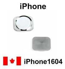 New White iPhone 5S 5GS Home Key Home Button Replacement Parts Fast Shipping