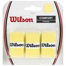 WILSON PRO OVERGRIP YELLOW,  FOR TENNIS, PADEL