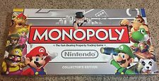 Monopoly Board Game - NINTENDO Collector's Edition USAopoly Hasbro 100% Complete