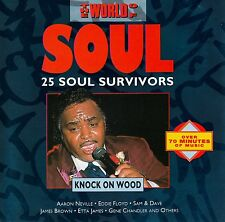 THE WORLD OF SOUL - KNOCK ON WOOD / CD