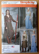 Simplicity Costume Pattern 1347 Game of Thrones - Daenerys - Discontinued 14-22