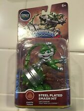 Skylanders Superchargers Steel Plated Smash Hit Exclusive VHTF