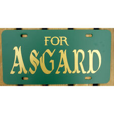 For Asgard Car Tag Thor and Loki License Plate