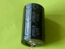 4700uF 80V 105C Radial Electrolytic Snap In,  Capacitor