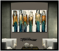 ABSTRACT MODERN CANVAS PAINTING CONTEMPORARY WALL ART......ELOISExxx