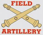 Field Artillery Sticker *Made in USA* US Army Window Decal Military Cannons Gift